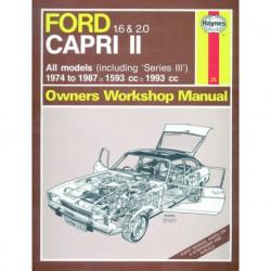 Haynes Ford Capri II et III, 1.6 et 2.0 (1974-87)
