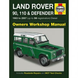 Haynes Land Rover 90, 110, 130 et Defender Diesel (1983-2007)
