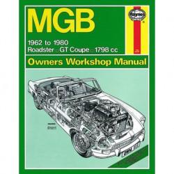 Haynes MG MGB, MGB GT (1962-80)