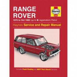 Haynes Range Rover Classic, essence V8 (1970-92)