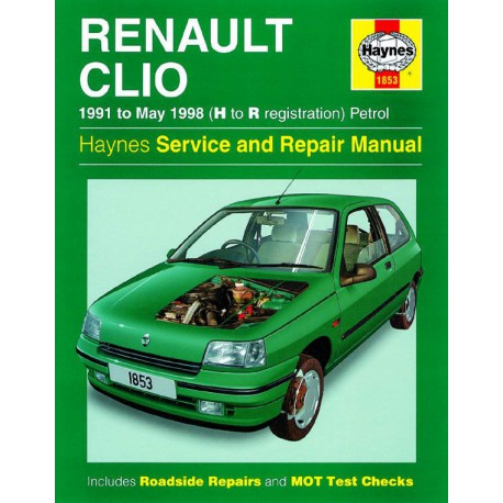 haynes renault clio mki essence 1991 98. Black Bedroom Furniture Sets. Home Design Ideas