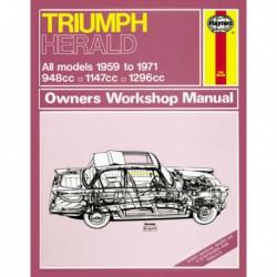 Haynes Triumph Herald, S, 1200, 12/50, 13/60, Courrier (1959-71)
