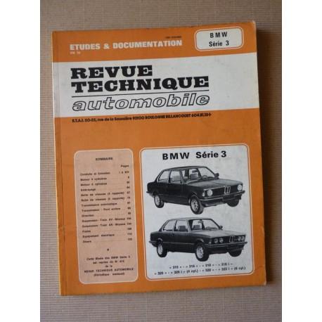 rta revue technique automobile bmw s rie 3 e21 315 316 318 318i 320 320i 323i. Black Bedroom Furniture Sets. Home Design Ideas