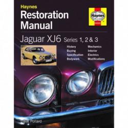 Manuel de restauration Jaguar XJ6 série 1, 2, 3