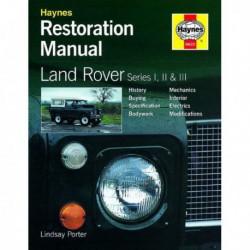 Manuel de restauration Land Rover Série I, II, III