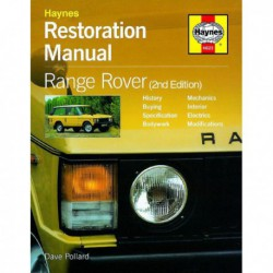 Manuel de restauration Range Rover Classic