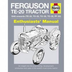 Manuel de l'amateur de Ferguson TE-20