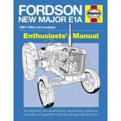 Manuel de l'amateur du Fordson New Major E1A