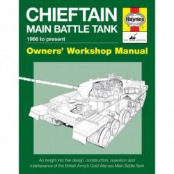 Manuel de l'amateur du tank de combat Chieftain