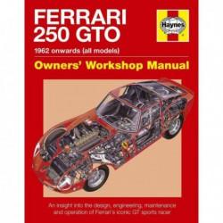 Manuel du propriétaire des Ferrari 250 GTO