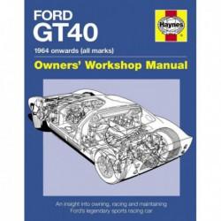 Manuel du propriétaire des Ford GT40