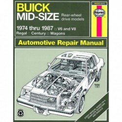 Haynes Buick Regal, Wagon, Century (1974-87)