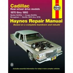 Haynes Cadillac Seville, Brougham, DeVille (1970-93)