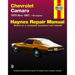 Haynes Chevrolet Camaro mk2 (1970-81)