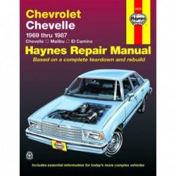 Haynes Chevrolet Chevelle, Malibu et ElCamino (1969-87)