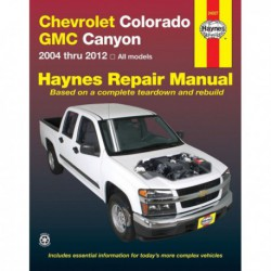 Haynes Chevrolet Colorado et GMC Canyon (2004-10)