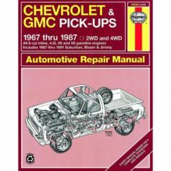 Haynes Chevrolet Blazer, Suburban et GMC Jimmy, Suburban (1967-91)