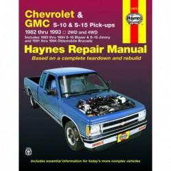Haynes Chevrolet S-10, Blazer, GMC S-15, Sonoma, Jimmy et Oldsmobile Bravada (1982-94)