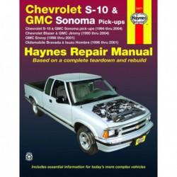 Haynes Chevrolet S-10, Blazer, GMC Somona, Jimmy, Envoy, Oldsmobile Bravada, Isuzu Hombre (1994-2004)