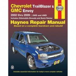 Haynes Chevrolet Trailblazer, EXT, GMC Envoy, XL, Oldsmobile Bravada, Buick Rainier (2002-09)