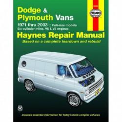Haynes Dodge Tradesman, Sportsman et Plymouth Voyager Vans (1971-2003)