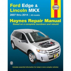 Haynes Ford Edge et Lincoln MKX (2007-14)